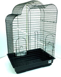 Anna Large Bird Cage For Cockatiel - Black