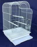 Anna Large Bird Cage For Cockatiel - White
