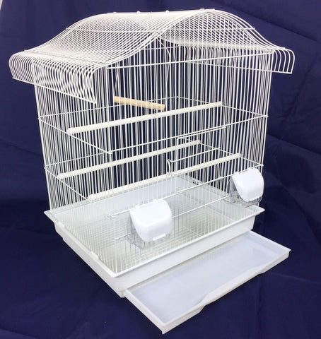 Maxine Large Bird Cage For Budgie & Canary - White