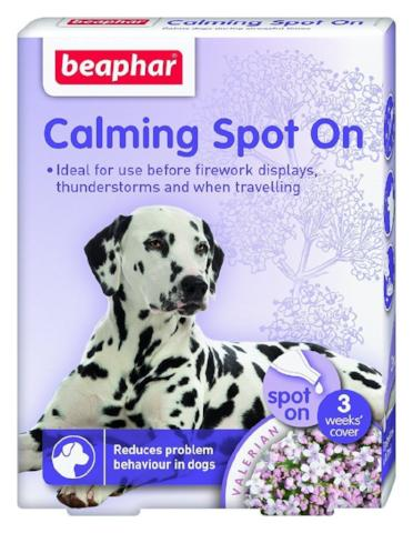 Beaphar Calming Spot On To Calm Dogs-Package Pets