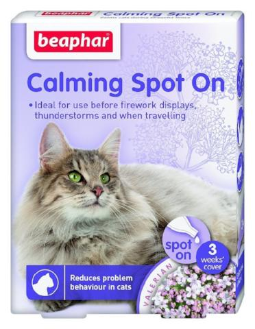 Beaphar Cat Calming Spot On-Package Pets