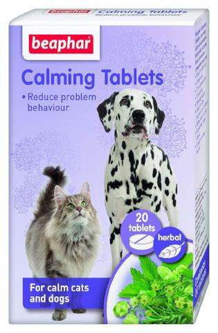Beaphar Cat & Dog Calming Tablets-Package Pets
