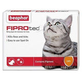 Beaphar FIPROtec Flea Spot On Treatment For Cats-Package Pets