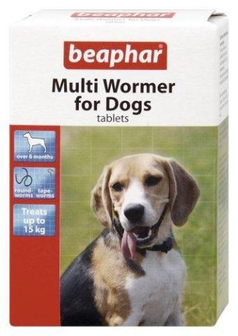 Beaphar Multi Worming Tablets For Dogs-Package Pets
