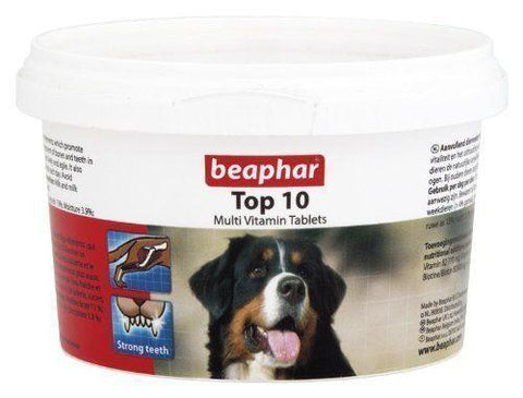 Beaphar Top 10 Dog Multi Vitamins For Dogs-Package Pets