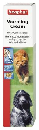 Beaphar Worming Cream for Cats & Dogs - 18g-Package Pets