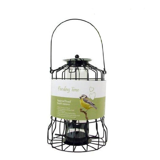 Deluxe Hanging Squirrel Proof Bird Feeder - Nut