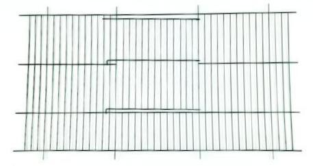 "Budgie Cage Fronts - 12"" x 24""-Package Pets"