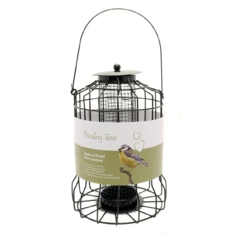 Deluxe Hanging Squirrel Proof Feeder - Seed-Package Pets