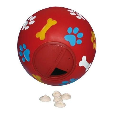 Dog Activity Snack Ball With Adjustable Opening - 11 cm-Package Pets