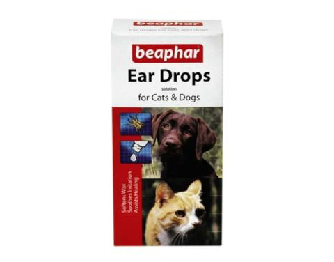 Ear Drops Kills Ear Mites Removes Wax-Package Pets
