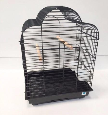 Gabby Large Bird Cage For Cockatiels - Black-Package Pets