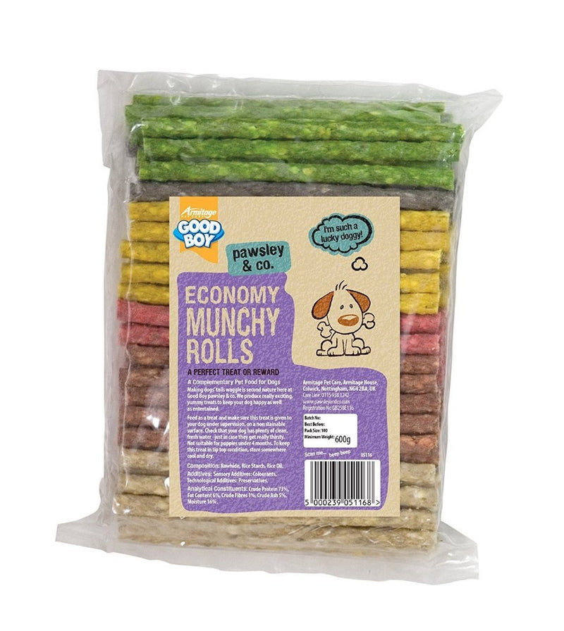 Good Boy Economy Munchy Chew Rolls Pack Of 100-Package Pets
