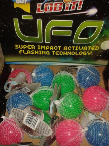 Goodboy Lob It UFO Flashing Dog Ball-Package Pets