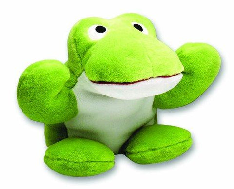 Happy Pet Fritz The Frog Large Plush Talking Dog Toy-Package Pets
