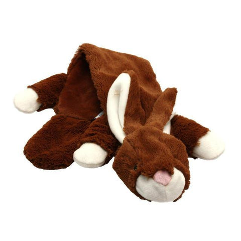 Happy Pet Unstuffed Soft Dog Toys - Rabbit-Package Pets