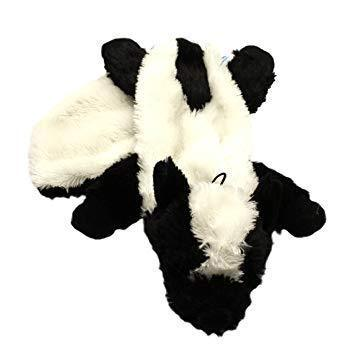 Happy Pet Unstuffed Soft Dog Toys - Skunk-Package Pets