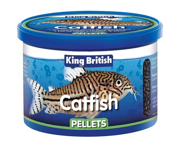 King British Catfish Pellets-Package Pets