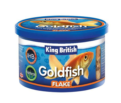 King British Goldfish Flake Food (With IHB)-Package Pets