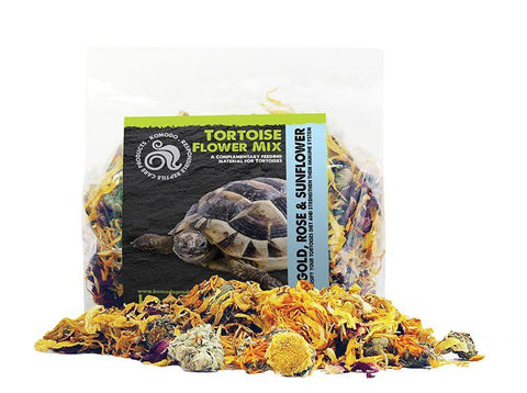 Komodo Tortoise Flower Mix - 60g-Package Pets