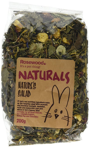Natural Natures Salad Treat 200g-Package Pets