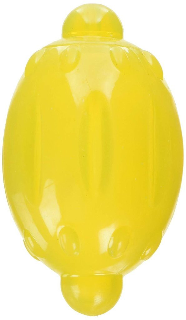 Rosewood BioSafe Latex Lemon Dog Toy With Squeaker-Package Pets