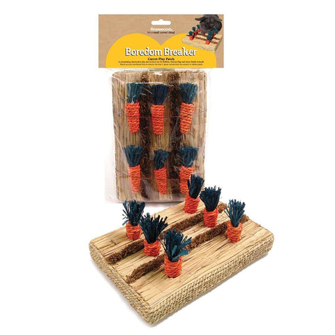 Rosewood Boredom Breaker Carrot Play Patch-Package Pets
