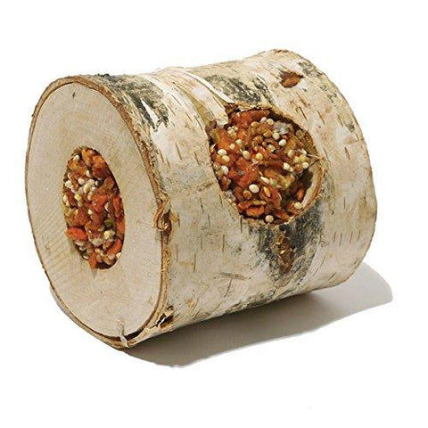 Rosewood Boredom Breaker Carrot Wood Roll-Package Pets