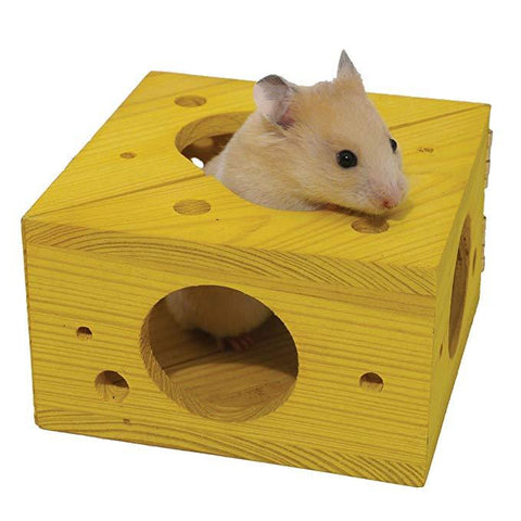 Rosewood Boredom Breaker Sleep-n-Play Cheese-Package Pets