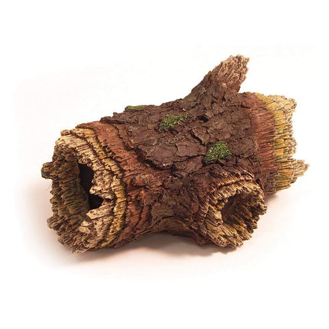 Rosewood Log Tunnel Aquarium Fish Tank Ornament-Package Pets