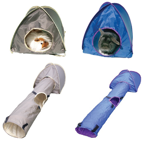 Small Animal Activity Play Tent - 2 Sizes-Package Pets