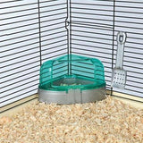 Trixie Corner Toilet With Roof And Litter Scoop-Package Pets