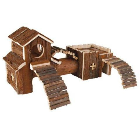 Trixie Natural Living Wood Frida Tunnel System-Package Pets