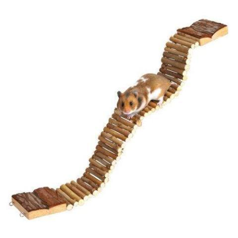 Trixie Natural Wooden Ladder-Package Pets
