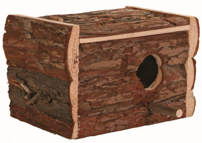 Trixie Natural Wooden Nesting Box-Package Pets