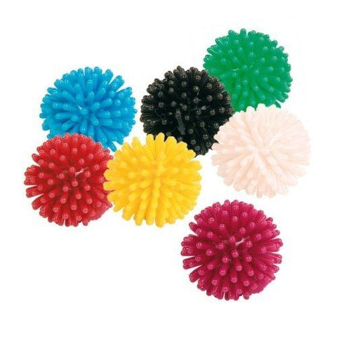 Trixie Rubber Hedgehog Balls For Cats - 7 Pack-Package Pets