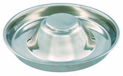 Trixie Stainless Steel Puppy Feeding Bowl - 1.5 Litre-Package Pets