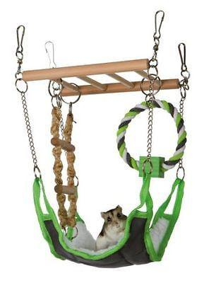 Trixie Suspension Hanging Bridge With Hammock-Package Pets