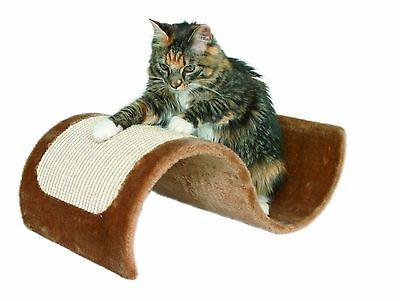 Trixie Wavy Scratching Board - Brown-Package Pets