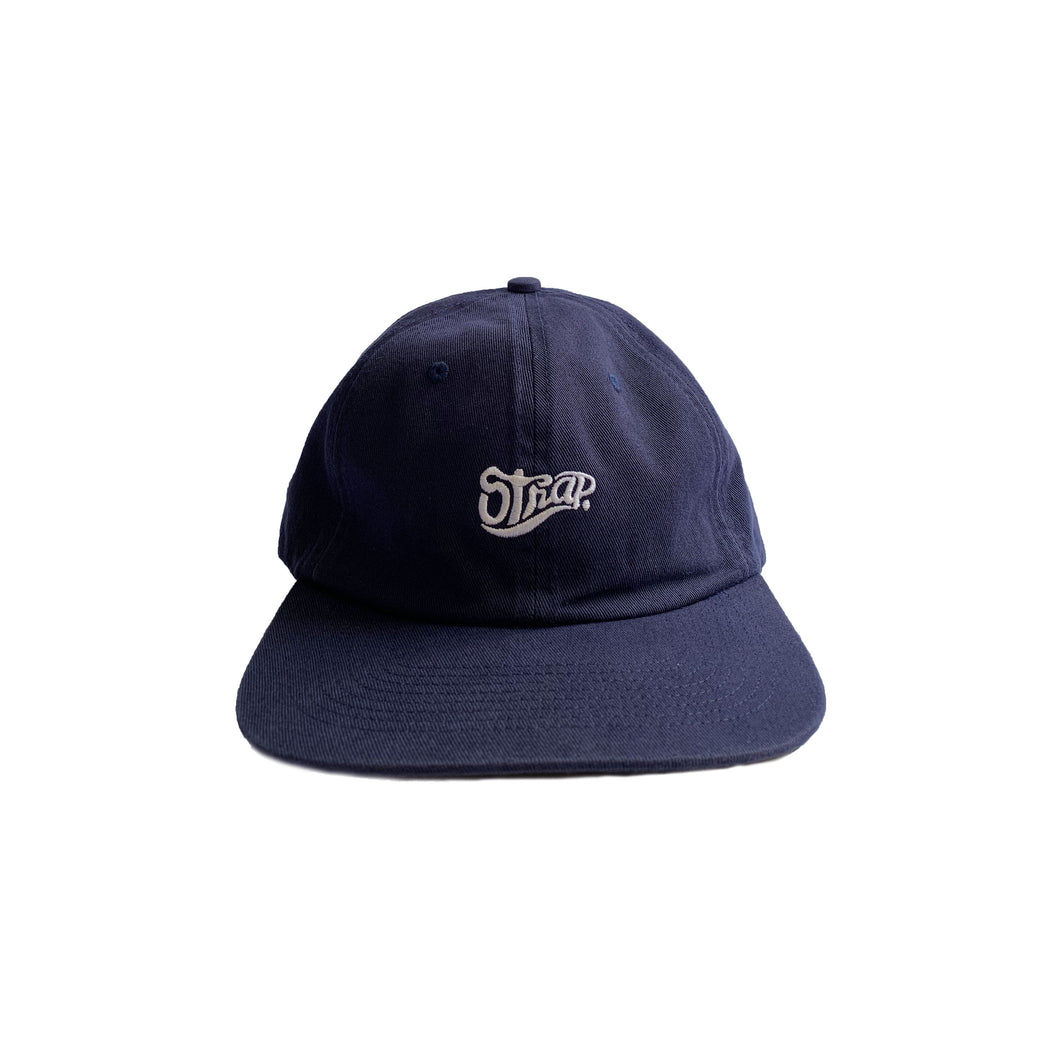 UNSTRUCTURED STAPLE HAT NAVY (WASHED)