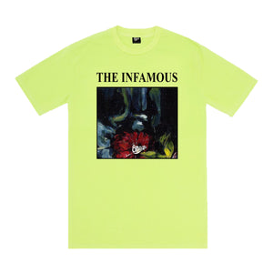 THE INFAMOUS TEE NEON GREEN
