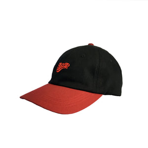 STAPLE HAT BLACK/MAROON