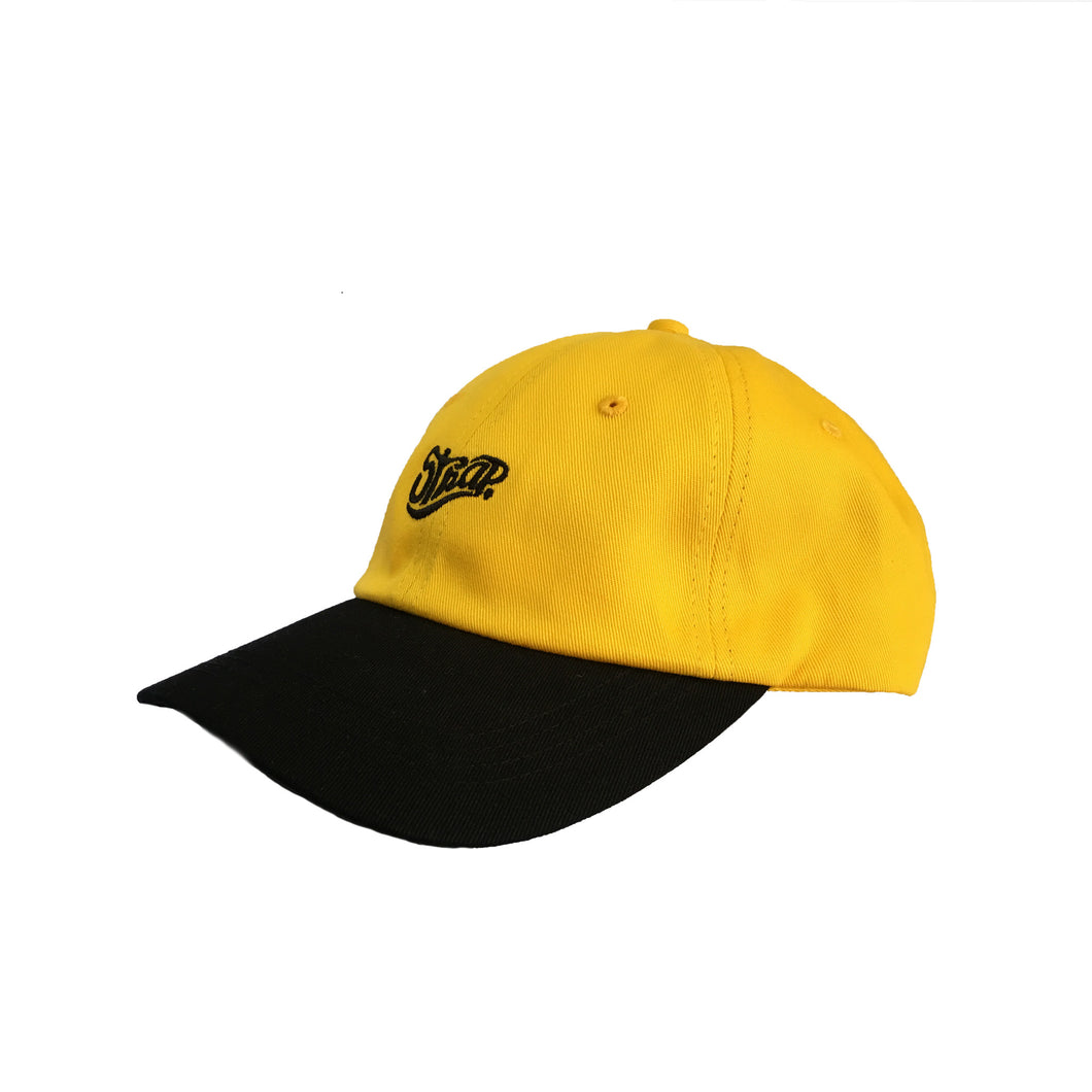 STAPLE HAT AMBER/BLACK