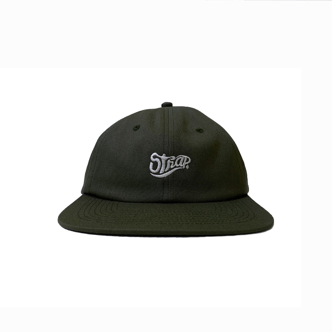STAPLE UNSTRUCTURED HAT OLIVE