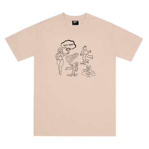 SUCCA FREE TEE BROWN