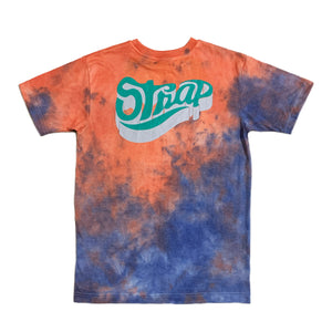 STANDARD STAPLE 3D DYE ORANGE/BLUE