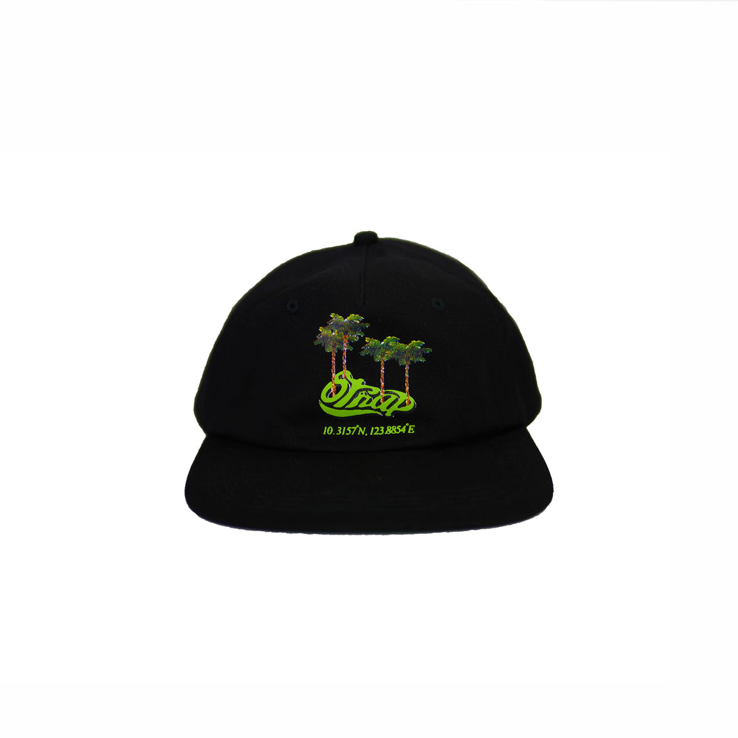 TROPIC UNSTRUCTURED HAT BLACK