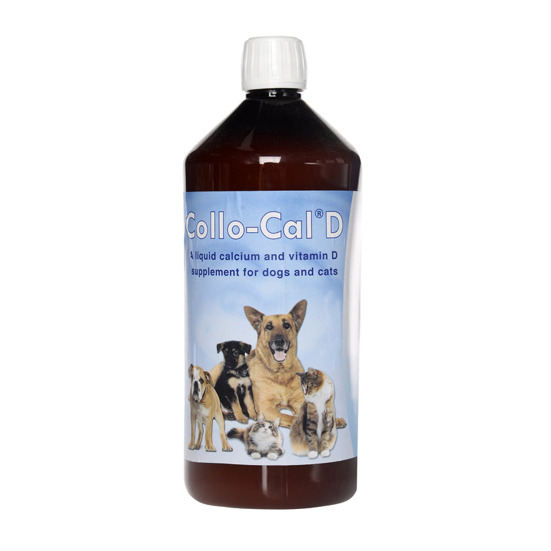Collo-Cal D is a palatable Calcium & Vitamin D supplement developed for young animals.