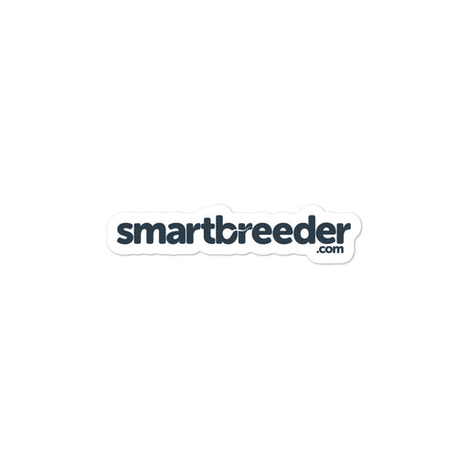 Bubble-free stickers - SmartBreeder.com