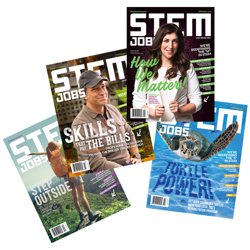 STEM Jobs Magazine | Print | Free Shipping*